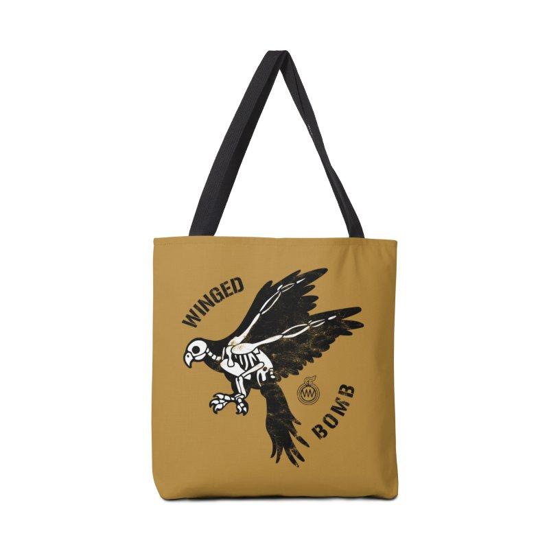 Macaw Skeleton in Tote Bag by WingedBomB's Artist Shop