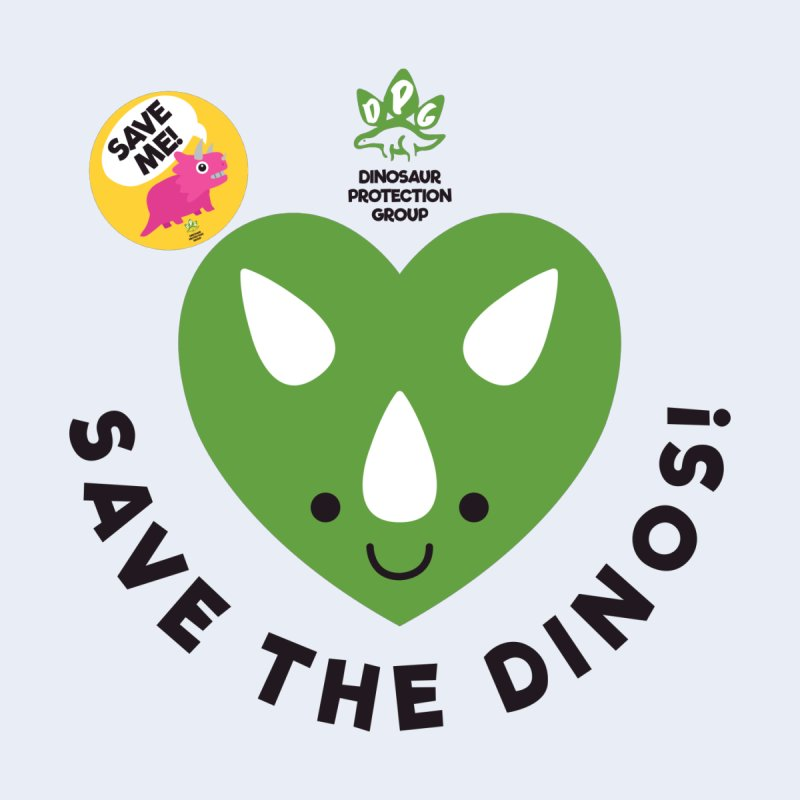Save The Dinos! (Variant) by WingedBomB's Artist Shop