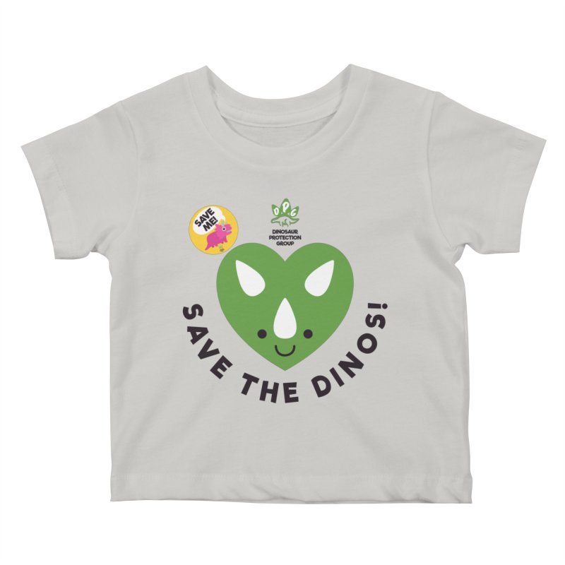 Save The Dinos! (Claire Dearing Variant) Kids Baby T-Shirt by WingedBomB's Artist Shop