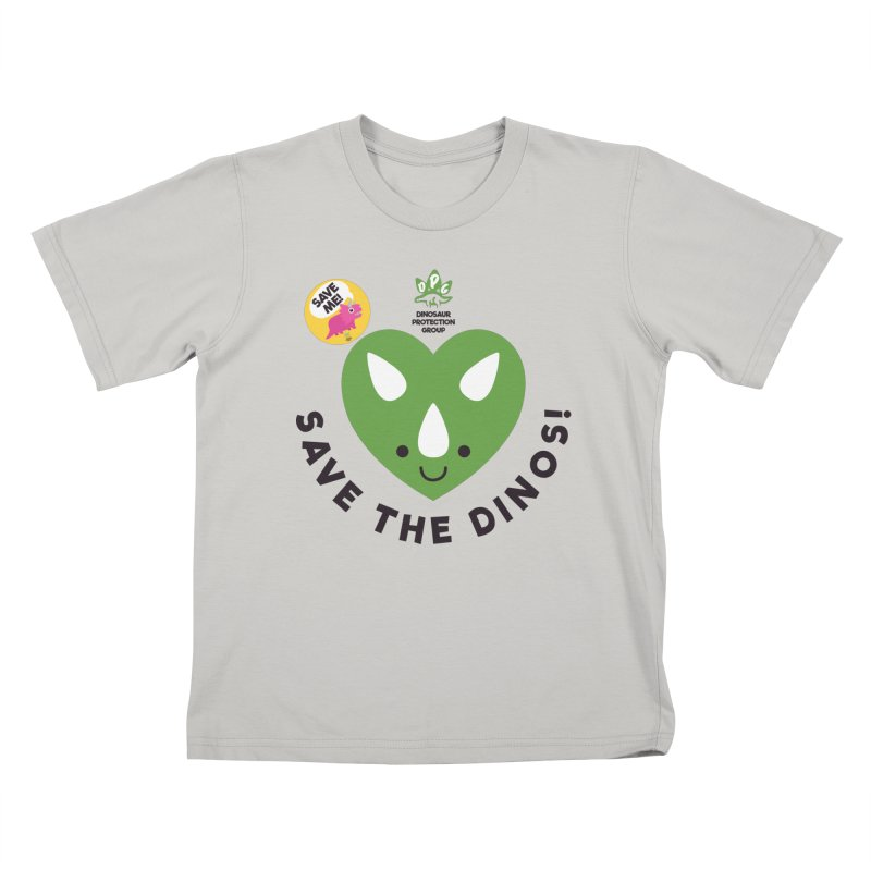 Save The Dinos! (Variant) Kids T-Shirt by WingedBomB's Artist Shop