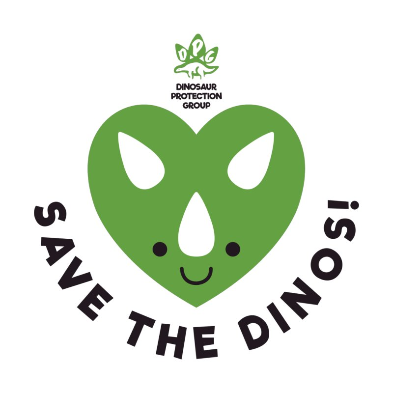 Save The Dinos! (Regular) by WingedBomB's Artist Shop