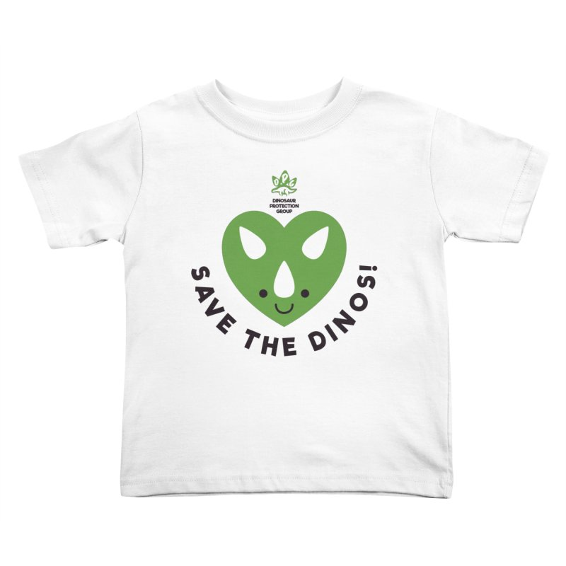 Save The Dinos! (Regular) Kids Toddler T-Shirt by WingedBomB's Artist Shop