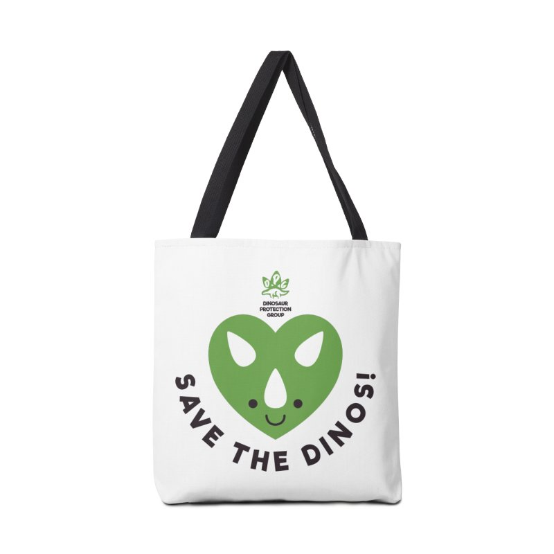 Save The Dinos! (Regular) Accessories Bag by WingedBomB's Artist Shop