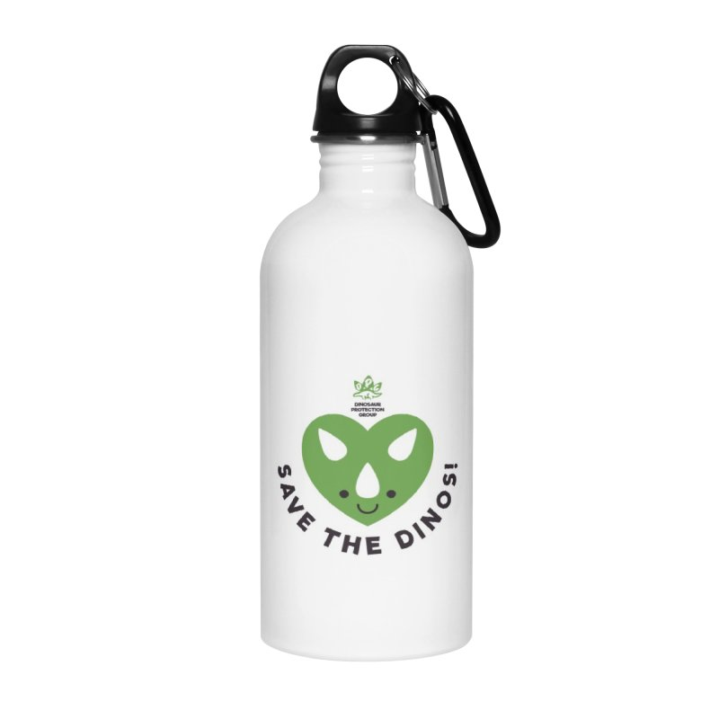 Save The Dinos! (Regular) Accessories Water Bottle by WingedBomB's Artist Shop