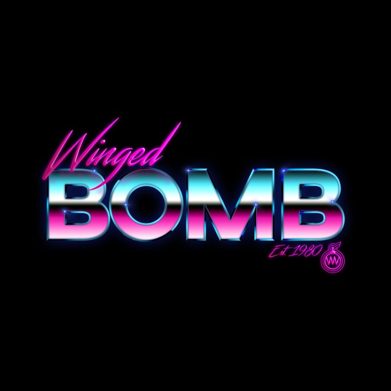 Winged Bomb 1980's by WingedBomB's Artist Shop