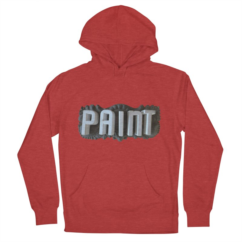 Vintage Paint Women's French Terry Pullover Hoody by wingstofly's Artist Shop