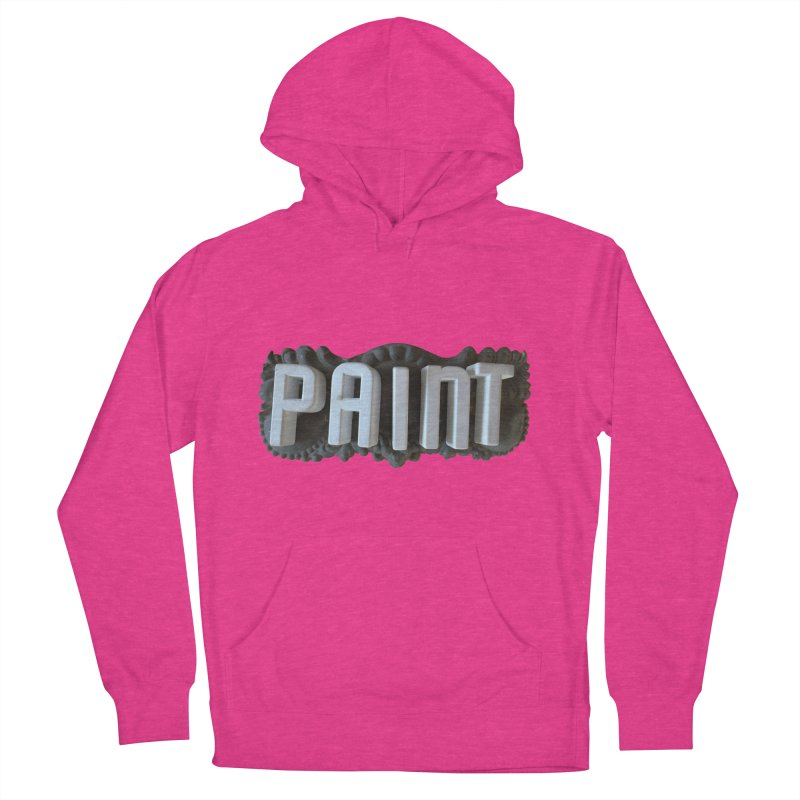 Vintage Paint Men's French Terry Pullover Hoody by wingstofly's Artist Shop