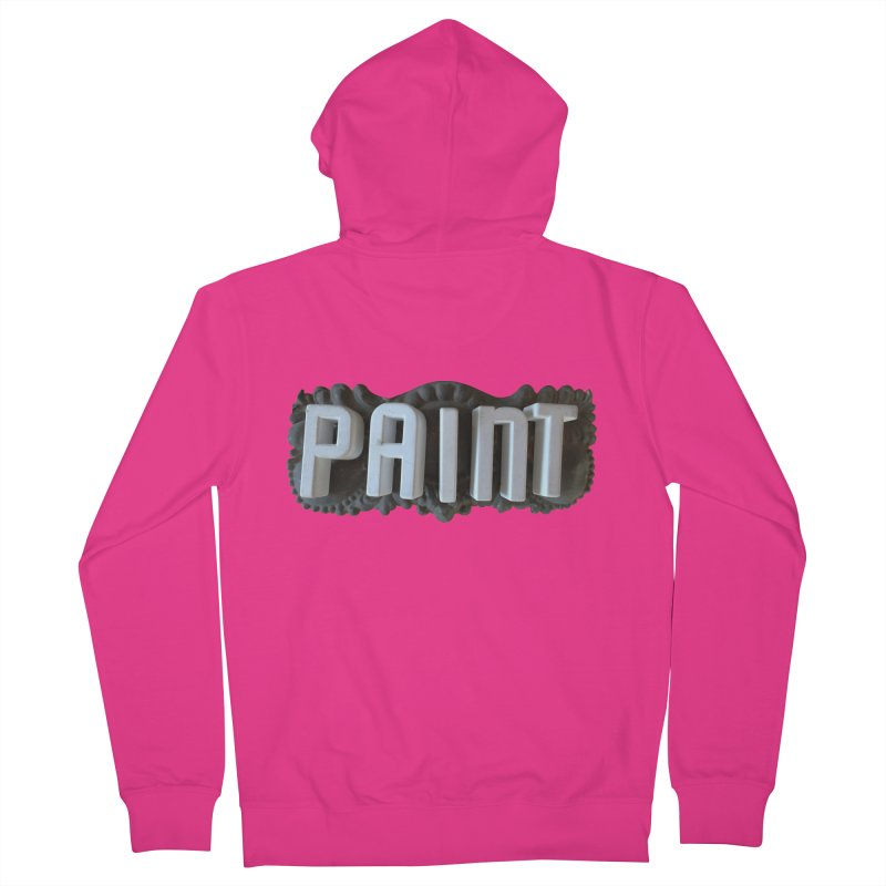 Vintage Paint Men's Zip-Up Hoody by wingstofly's Artist Shop