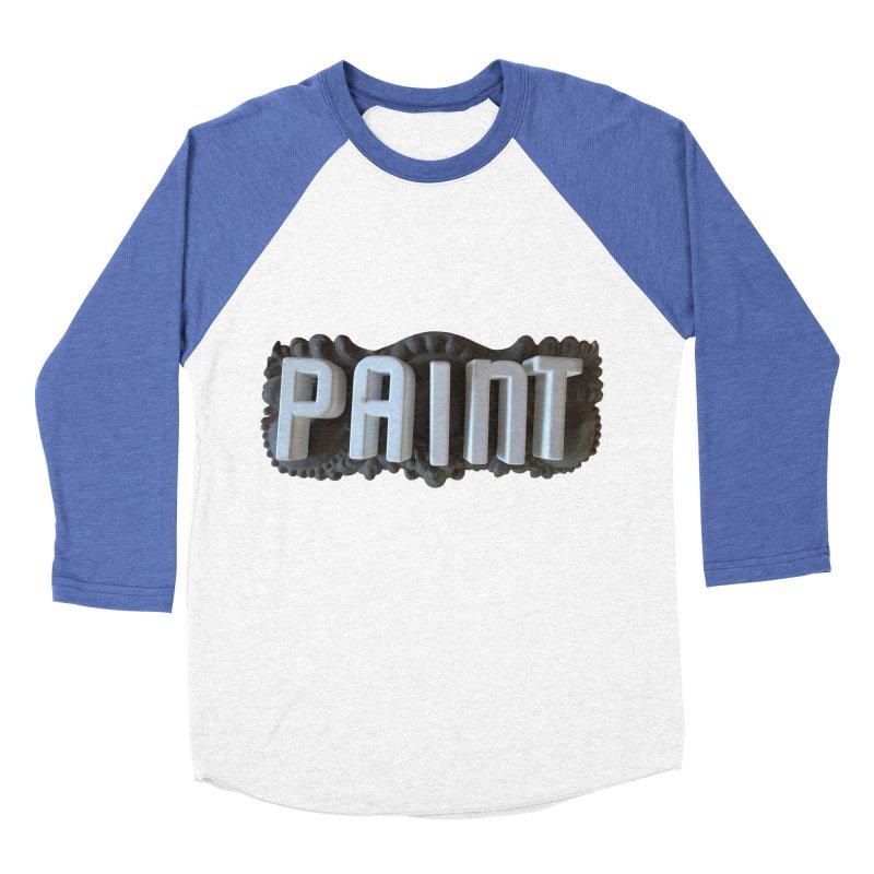 Vintage Paint Women's Baseball Triblend Longsleeve T-Shirt by wingstofly's Artist Shop