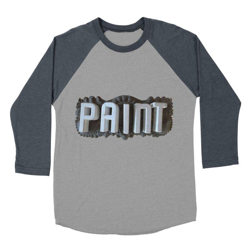 Vintage Paint Women's Baseball Triblend T-Shirt by wingstofly's Artist Shop