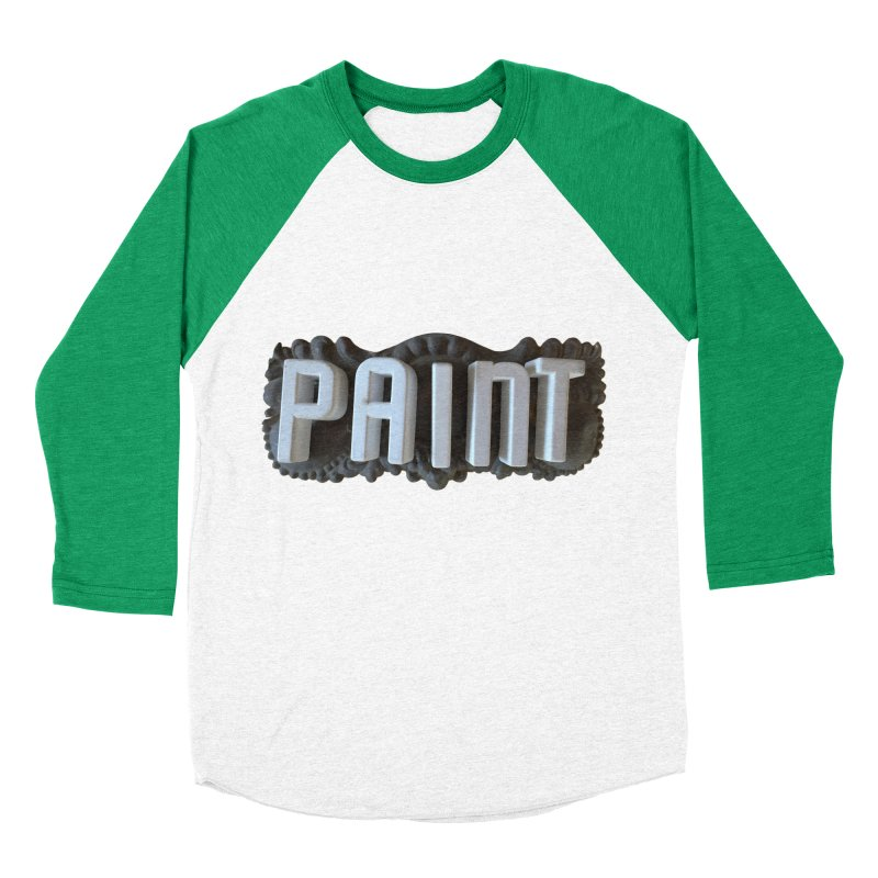 Vintage Paint Men's Baseball Triblend Longsleeve T-Shirt by wingstofly's Artist Shop
