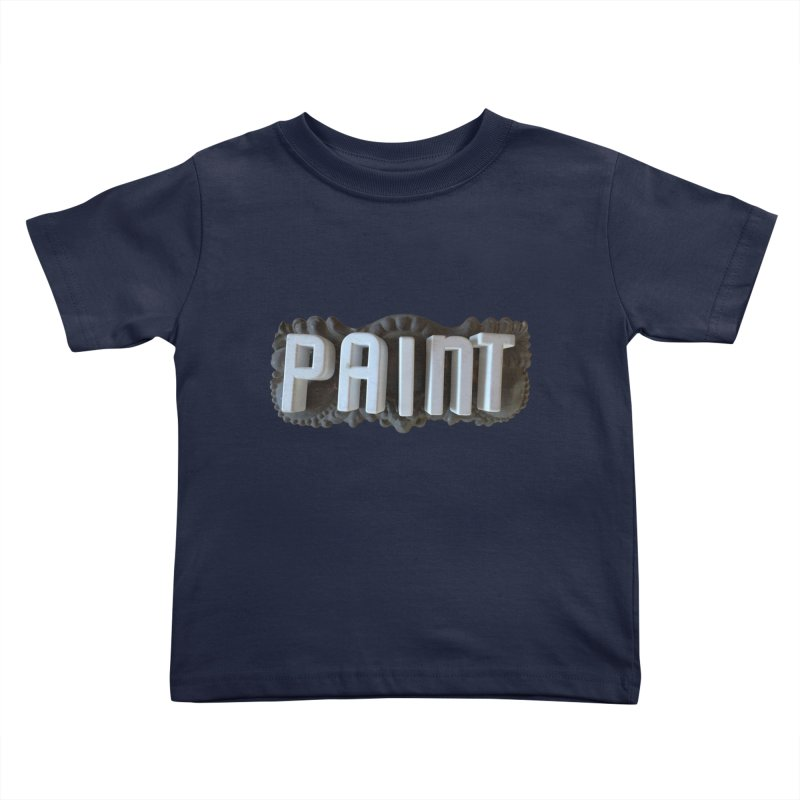 Vintage Paint Kids Toddler T-Shirt by wingstofly's Artist Shop