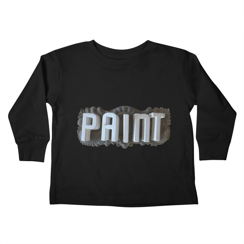 Vintage Paint Kids Toddler Longsleeve T-Shirt by wingstofly's Artist Shop