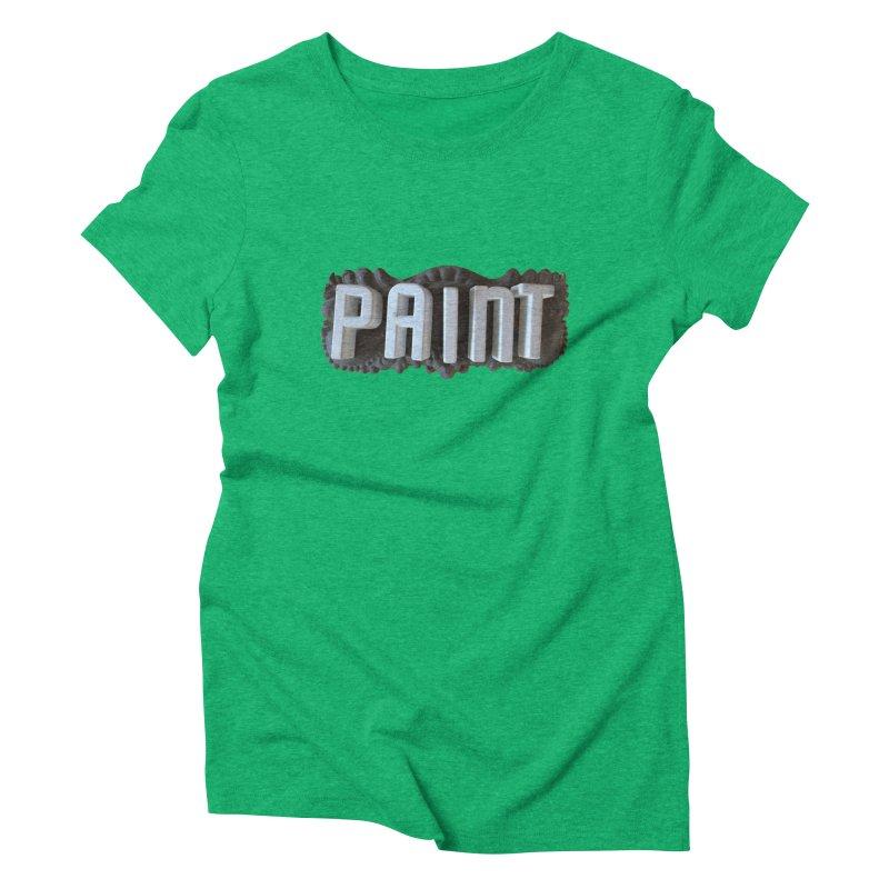 Vintage Paint Women's Triblend T-Shirt by wingstofly's Artist Shop