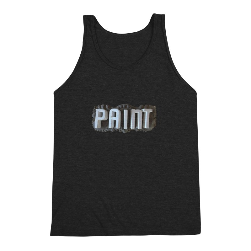 Vintage Paint Men's Triblend Tank by wingstofly's Artist Shop