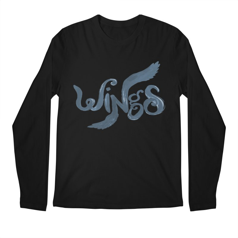 Outstretched Wings Men's Regular Longsleeve T-Shirt by wingstofly's Artist Shop