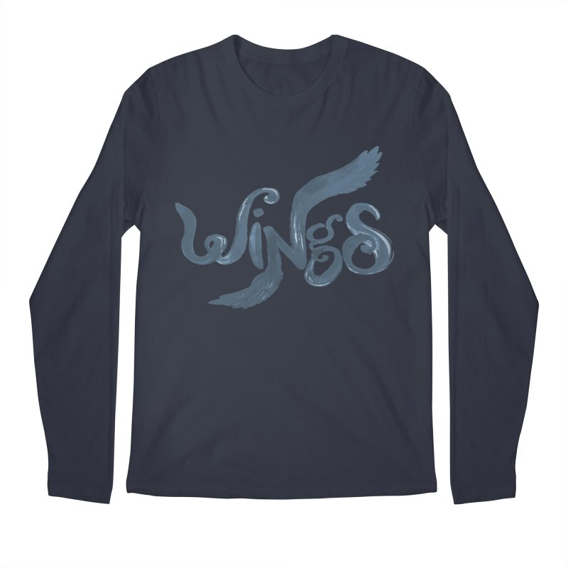 Outstretched Wings Men's Longsleeve T-Shirt by wingstofly's Artist Shop