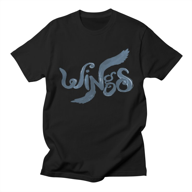Outstretched Wings Men's Regular T-Shirt by wingstofly's Artist Shop