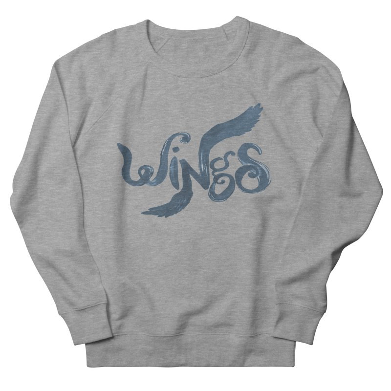 Outstretched Wings Men's Sweatshirt by wingstofly's Artist Shop