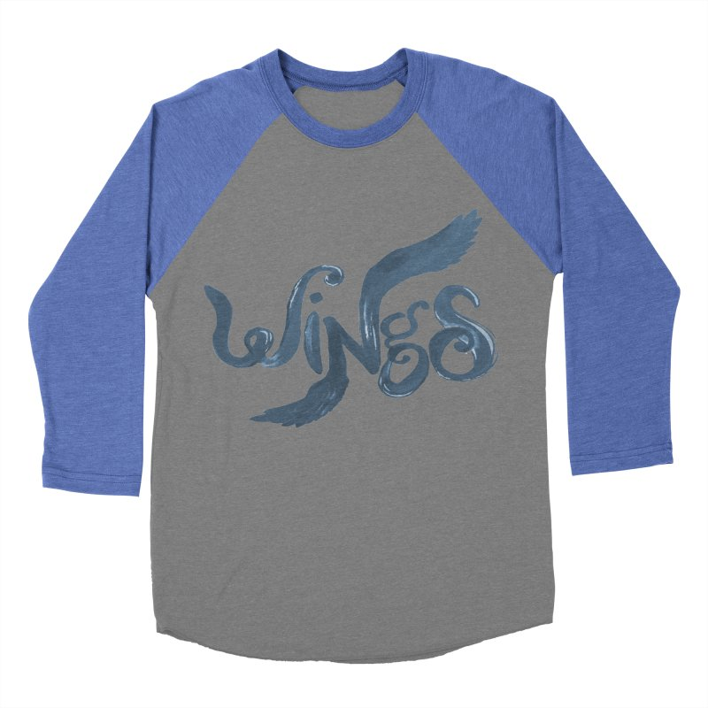 Outstretched Wings Women's Baseball Triblend Longsleeve T-Shirt by wingstofly's Artist Shop