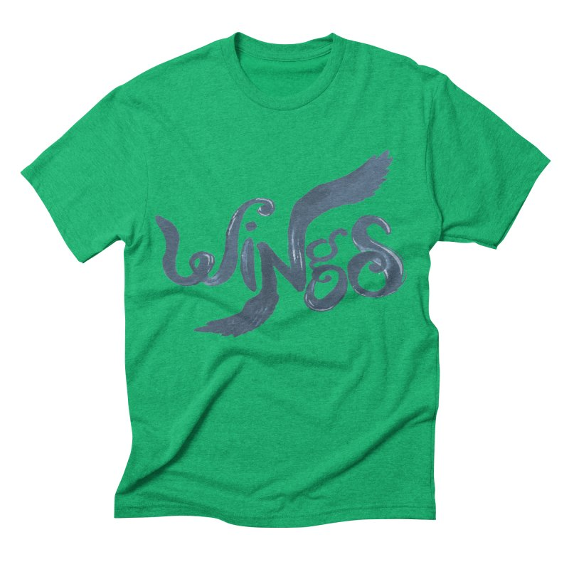 Outstretched Wings Men's Triblend T-shirt by wingstofly's Artist Shop