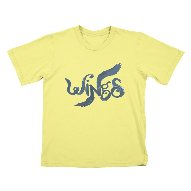 Outstretched Wings Kids T-shirt by wingstofly's Artist Shop