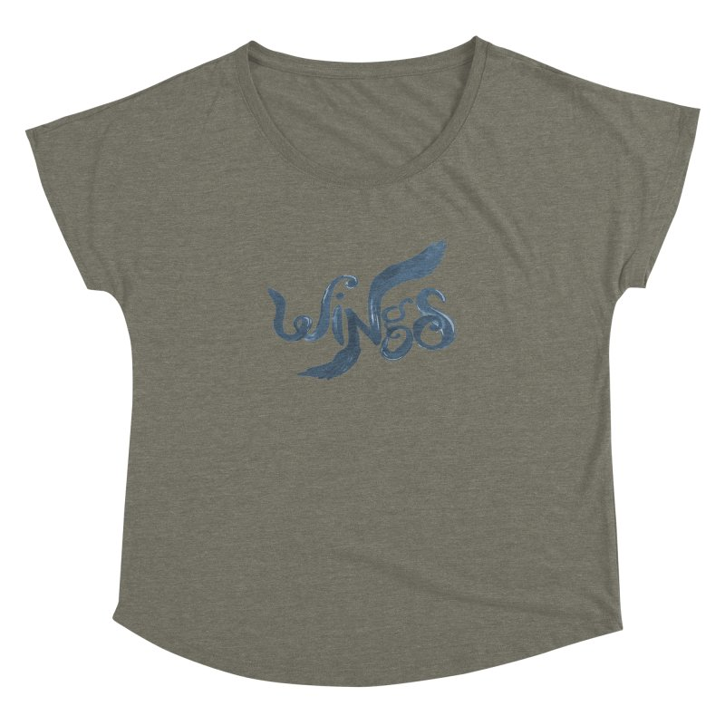Outstretched Wings Women's Dolman by wingstofly's Artist Shop