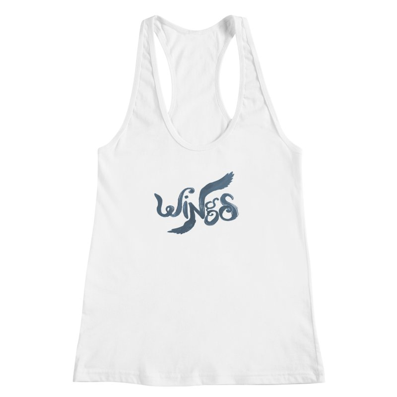 Outstretched Wings Women's Racerback Tank by wingstofly's Artist Shop