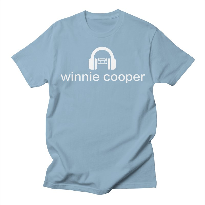 Winnie Cooper Logo Wide White on Black Men's Regular T-Shirt by Winnie Cooper's Artist Shop