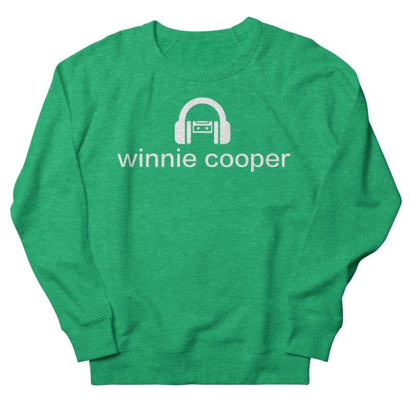 Winnie Cooper Logo Wide White on Black Women's French Terry Sweatshirt by Winnie Cooper's Artist Shop