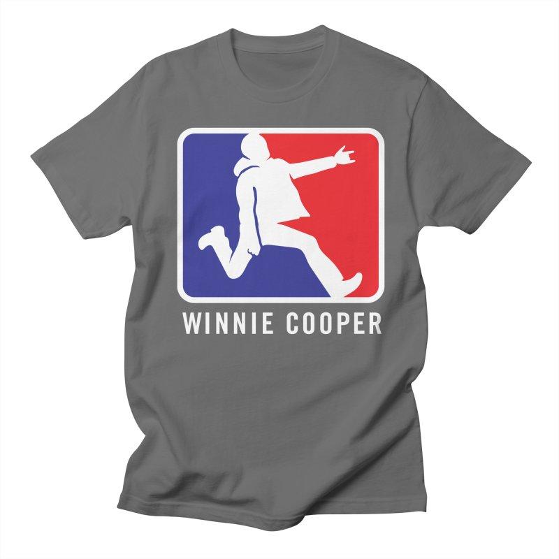Winnie Cooper Sports Logo Men's T-Shirt by Winnie Cooper's Artist Shop