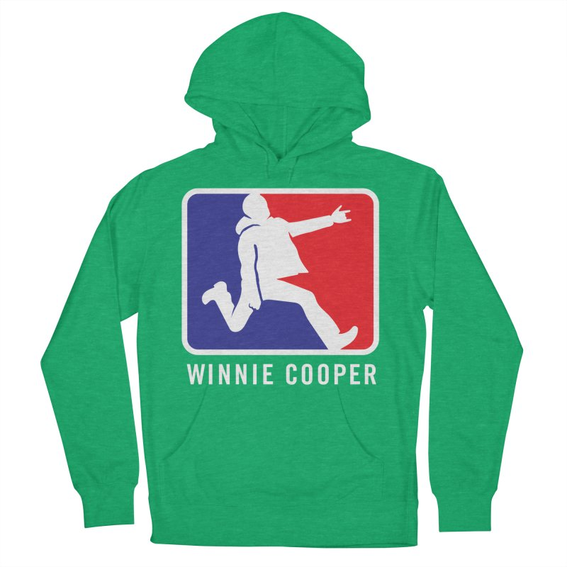 Winnie Cooper Sports Logo Men's French Terry Pullover Hoody by Winnie Cooper's Artist Shop