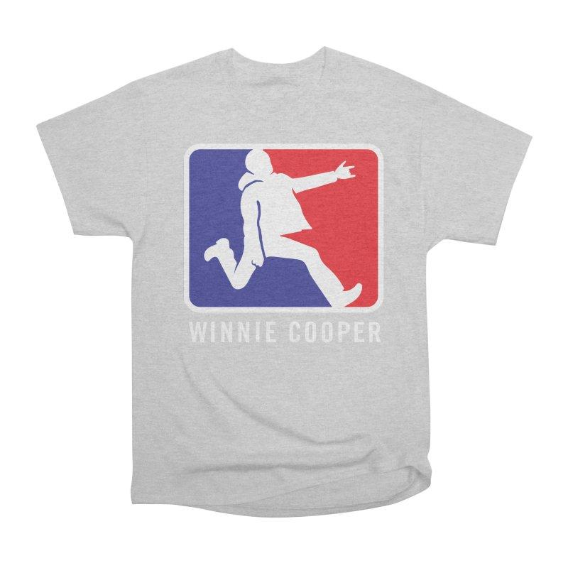 Winnie Cooper Sports Logo Women's Heavyweight Unisex T-Shirt by Winnie Cooper's Artist Shop