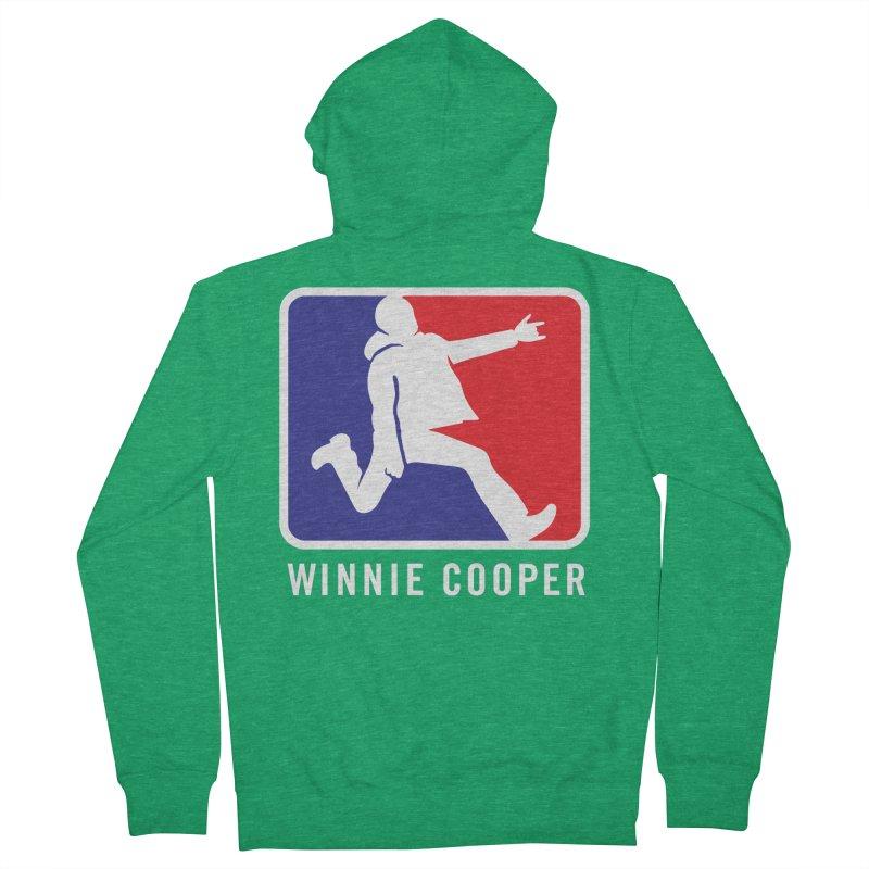 Winnie Cooper Sports Logo Men's French Terry Zip-Up Hoody by Winnie Cooper's Artist Shop