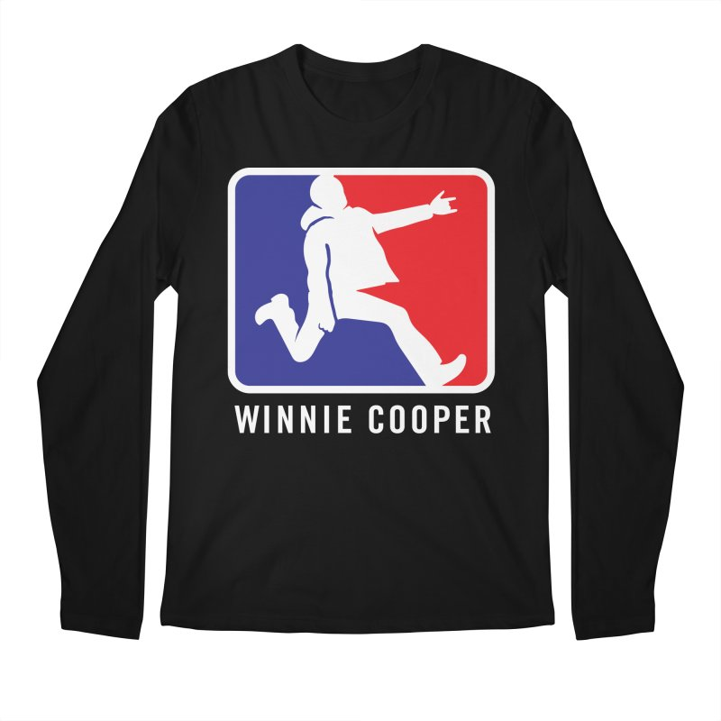 Winnie Cooper Sports Logo Men's Regular Longsleeve T-Shirt by Winnie Cooper's Artist Shop