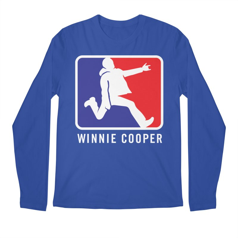 Winnie Cooper Sports Logo Men's Regular Longsleeve T-Shirt by Winnie Cooper's Artist Shop