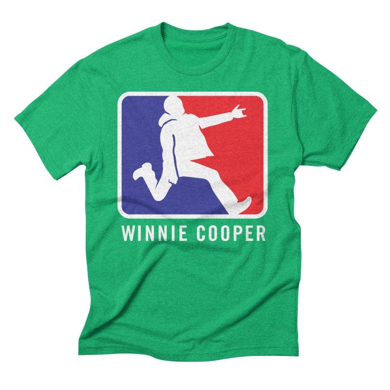 Winnie Cooper Sports Logo Men's Triblend T-Shirt by Winnie Cooper's Artist Shop