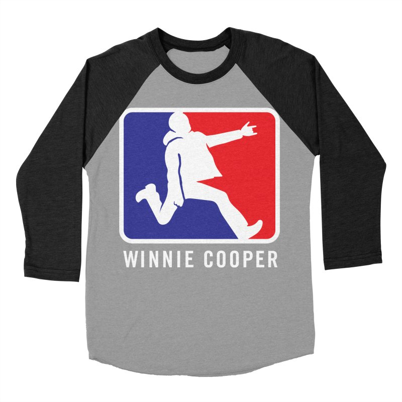 Winnie Cooper Sports Logo Men's Baseball Triblend Longsleeve T-Shirt by Winnie Cooper's Artist Shop