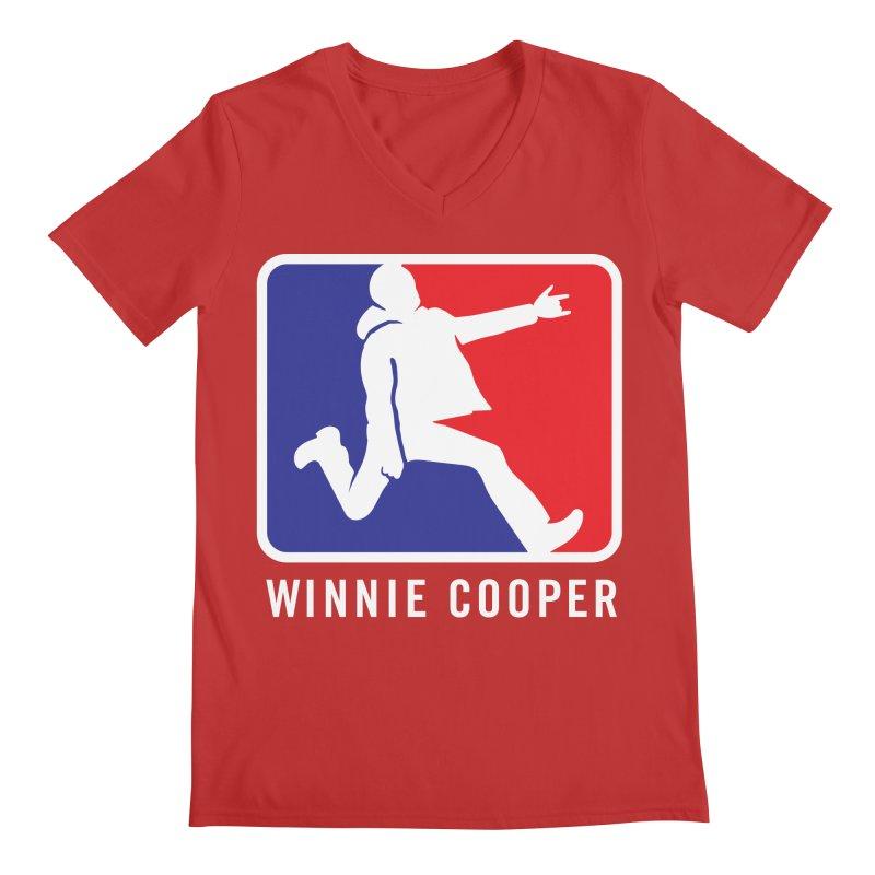 Winnie Cooper Sports Logo Men's Regular V-Neck by Winnie Cooper's Artist Shop