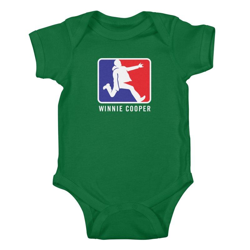 Winnie Cooper Sports Logo Kids Baby Bodysuit by Winnie Cooper's Artist Shop
