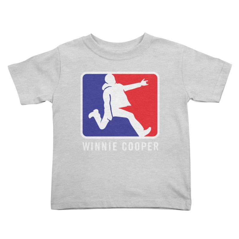 Winnie Cooper Sports Logo Kids Toddler T-Shirt by Winnie Cooper's Artist Shop