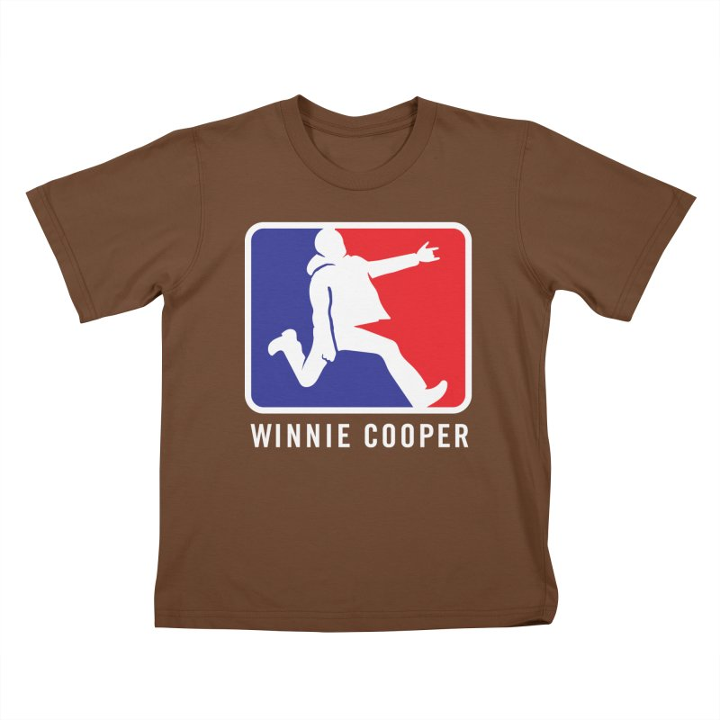 Winnie Cooper Sports Logo Kids T-Shirt by Winnie Cooper's Artist Shop