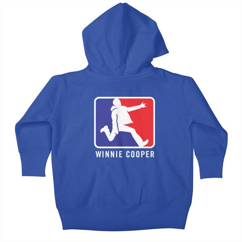 Winnie Cooper Sports Logo Kids Baby Zip-Up Hoody by Winnie Cooper's Artist Shop