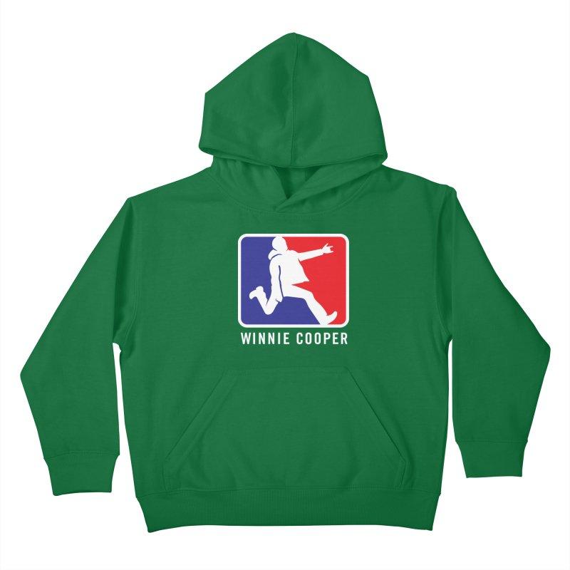 Winnie Cooper Sports Logo Kids Pullover Hoody by Winnie Cooper's Artist Shop