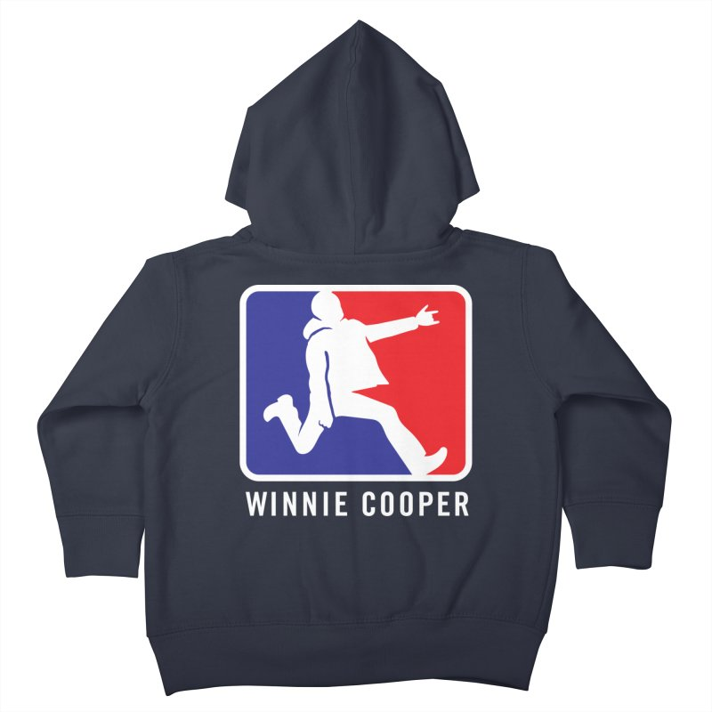 Winnie Cooper Sports Logo Kids Toddler Zip-Up Hoody by Winnie Cooper's Artist Shop