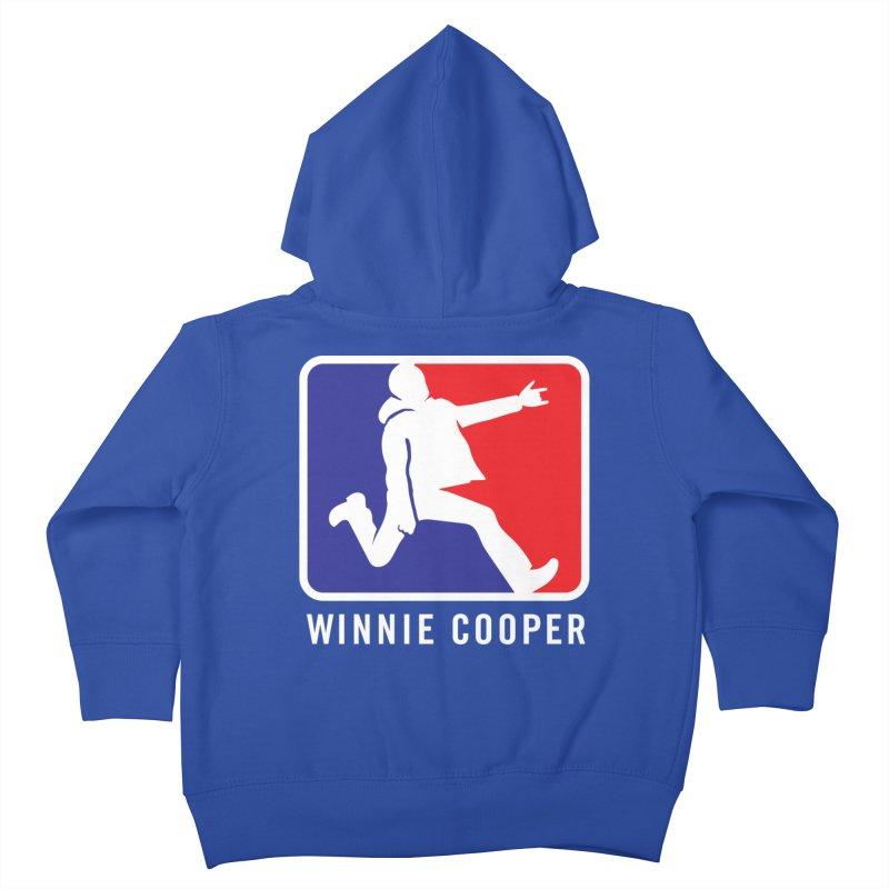 Winnie Cooper Sports Logo Kids Toddler Zip-Up Hoody by Winnie Cooper's Artist Shop