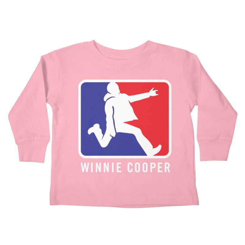 Winnie Cooper Sports Logo Kids Toddler Longsleeve T-Shirt by Winnie Cooper's Artist Shop