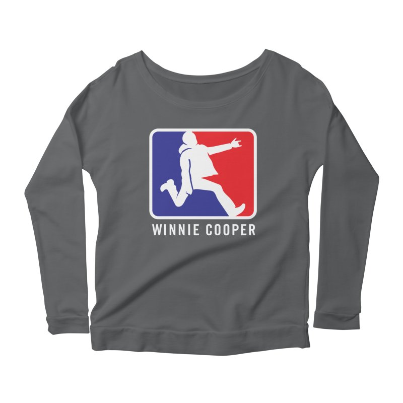 Winnie Cooper Sports Logo Women's Scoop Neck Longsleeve T-Shirt by Winnie Cooper's Artist Shop