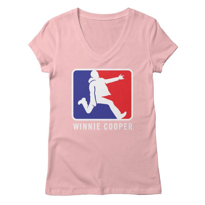 Winnie Cooper Sports Logo Women's Regular V-Neck by Winnie Cooper's Artist Shop