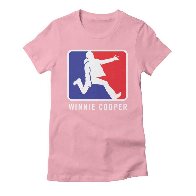 Winnie Cooper Sports Logo Women's Fitted T-Shirt by Winnie Cooper's Artist Shop